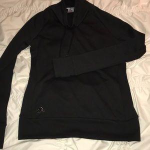 Adidas cowl neck sweatshirt